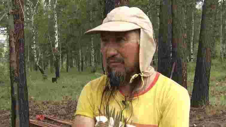 Російські силовики затримали шамана, який ішов до Москви «виганяти Путіна»