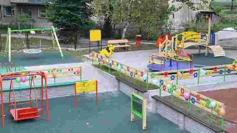 У львівському дитсадку відкрили інклюзивний майданчик за $118 тис.