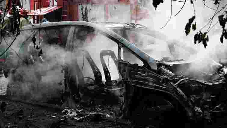 В Києві після заряджання дотла згорів електромобіль Chevrolet Bolt