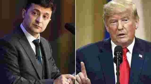 Трамп дозволив опублікувати стенограму телефонної розмови із Зеленським