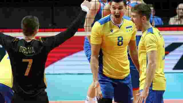 Збірна України з волейболу поступилася Сербії у чвертьфіналі Євро-2019