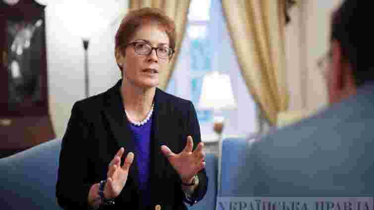 Зеленський і Трамп негативно відгукнулися про екс-посолку США в Україні Марі Йованович