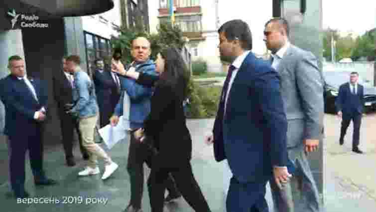Прес-секретарка Зеленського напала на журналіста