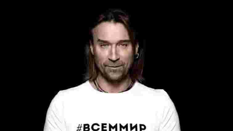 Українського співака Олега Винника внеслу до бази сайту «Миротворець»