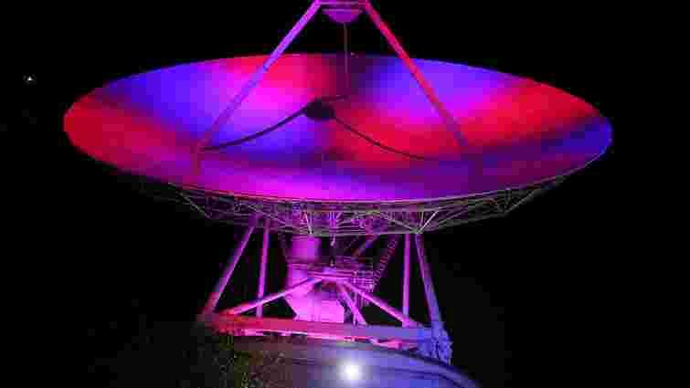 Дитячі малюнки закодували у сигнал та відправили в космос зі станції біля Золочева