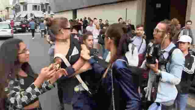 Український пранкер напав на Джастіна Тімберлейка в Парижі
