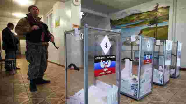 Лідери «ДНР» і «ЛНР» вимагають «прямого діалогу» щодо виборів на Донбасі