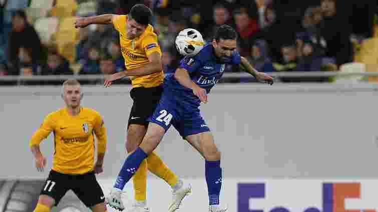 «Олександрія» зіграла у Львові внічию з «Гентом» матч Ліги Європи