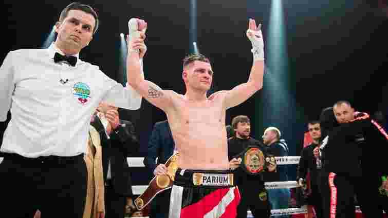 Український боксер Денис Берінчик захистив пояс чемпіона за версією WBO