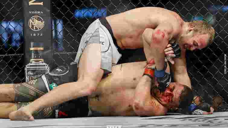 Український боєць змішаних єдиноборств сенсаційно здобув свою першу перемогу в UFC