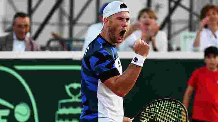 Український тенісист став двократним чемпіоном турніру ATP у Казахстані
