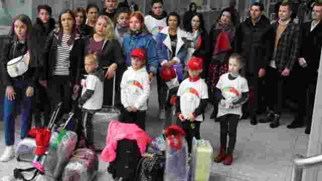 Сім'ї загиблих учасників АТО зі Львова полетіли на відпочинок в Анталію