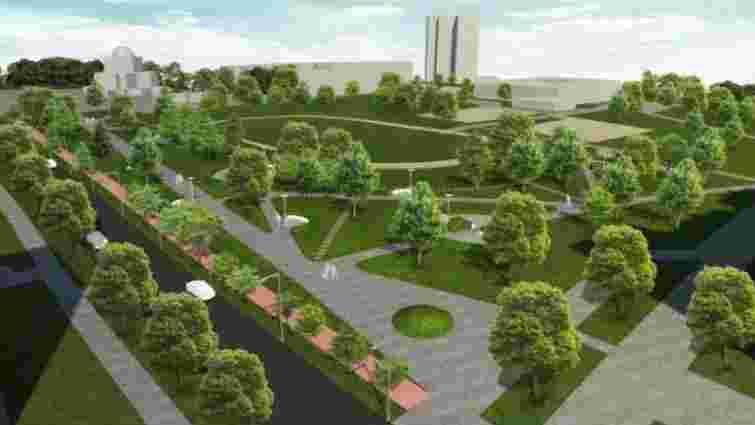 Львівський суд дозволив створення скверу замість спорткомплексу у Залізничному районі