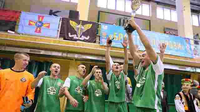 Львівські десантники перемогли у футзальному турнірі серед військових