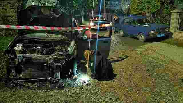 У Бучачі на Тернопільщині спалили авто відомого місцевого активіста