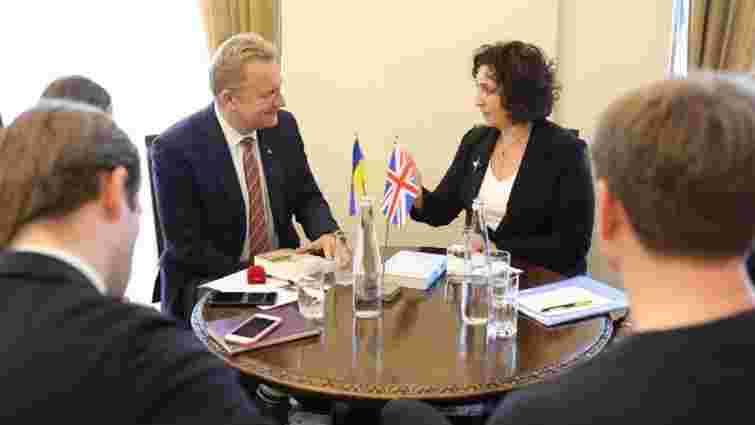 У Львові обговорили можливі напрями співпраці з містами Великобританії