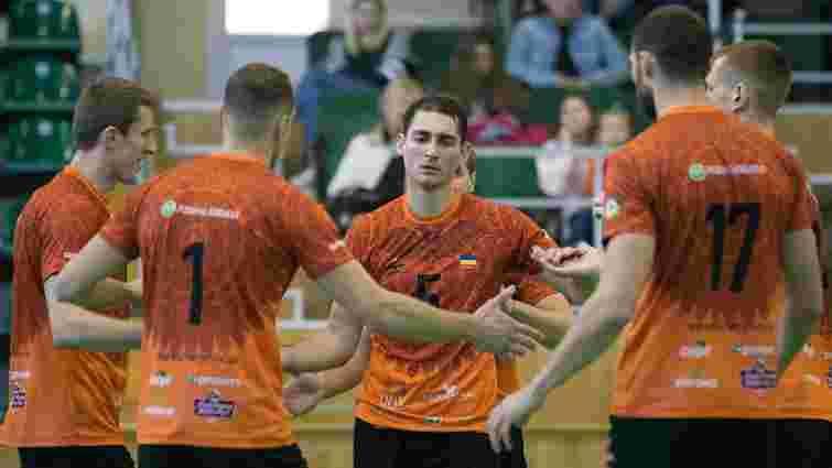 «Кажани» у Львові обмінялися перемогами з «Серце Поділля» у матчах чемпіонату з волейболу