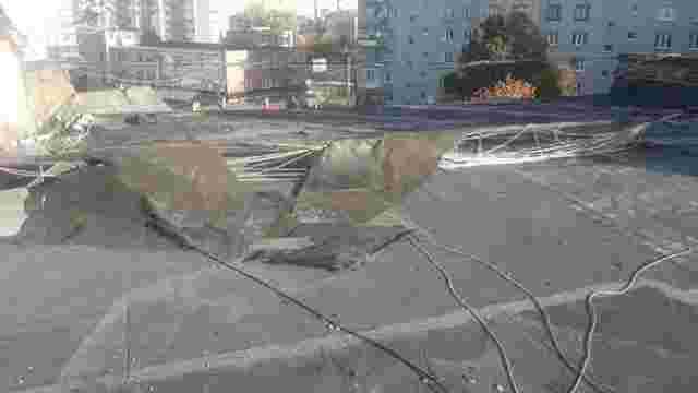 На ремонт пошкодженого під час негоди даху з бюджету Львова виділили понад 200 тис. грн
