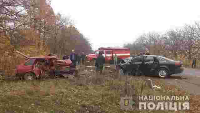 Внаслідок ДТП на Вінниччині  загинуло троє людей