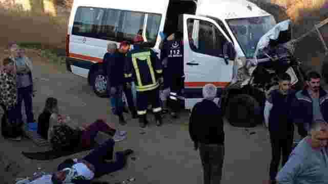 Десятеро українських туристів постраждали у ДТП в Туреччині