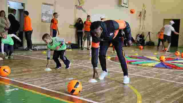 У Львові запустили проект з тренування з футболу дітей з інвалідністю