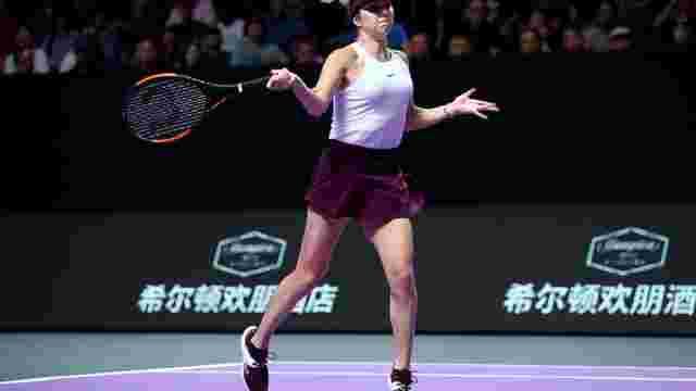 Тенісистка Еліна Світоліна вийшла до фіналу Підсумкового турніру WTA