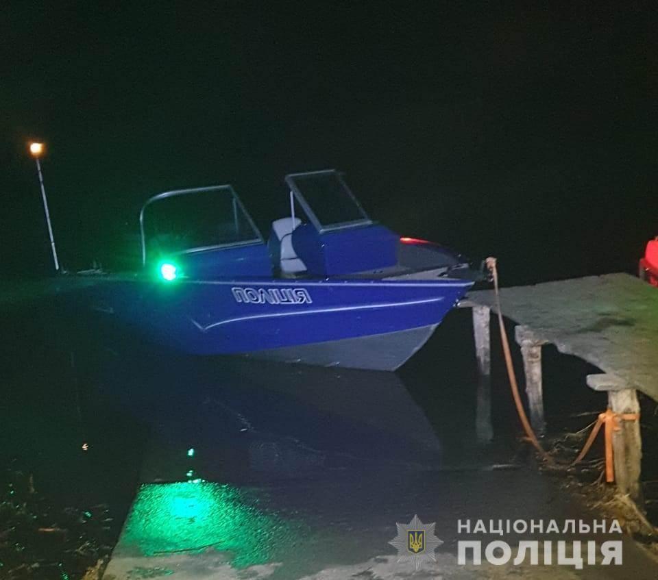 На одному з рибальських човнів, які зіткнулися на Одещині, не було освітлювальних вогнів (фото поліції Одещини)