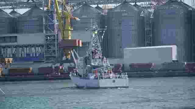 В Одесі провели випробування подарованих США катерів Island