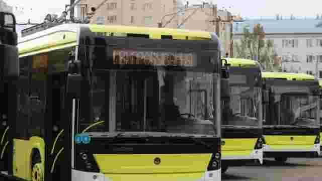 Із 15 грудня на вулиці Львова планують випустити перший десяток нових тролейбусів «Електрон»
