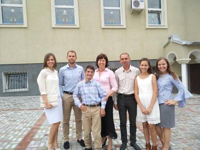 Сім'я Оксани та Богдана Яким