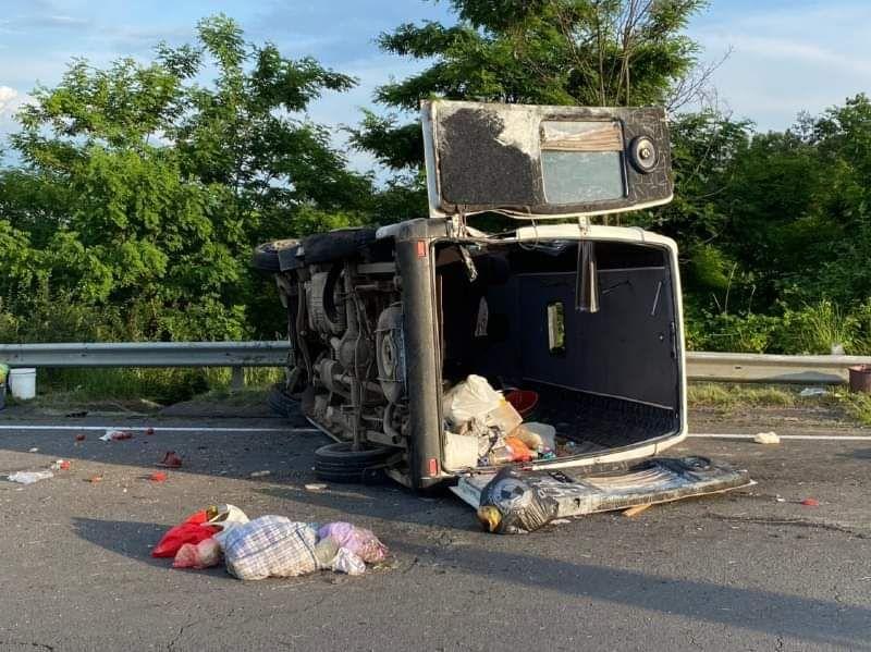 Аварія маршрутки Ужгород – Хуст, четвер, 25 червня 2020 року
