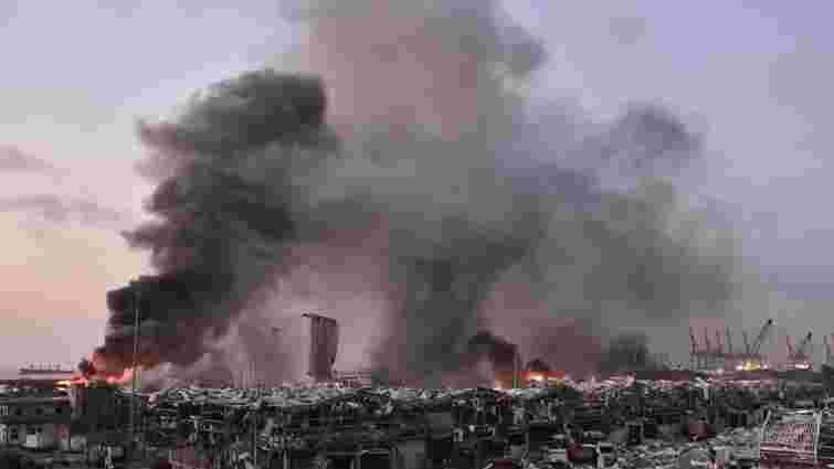 Посол заявив про кількох постраждалих українців унаслідок вибуху в Бейруті