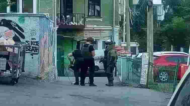Поліція знешкодила вибухівку біля офісу ОПЗЖ у центрі Києва