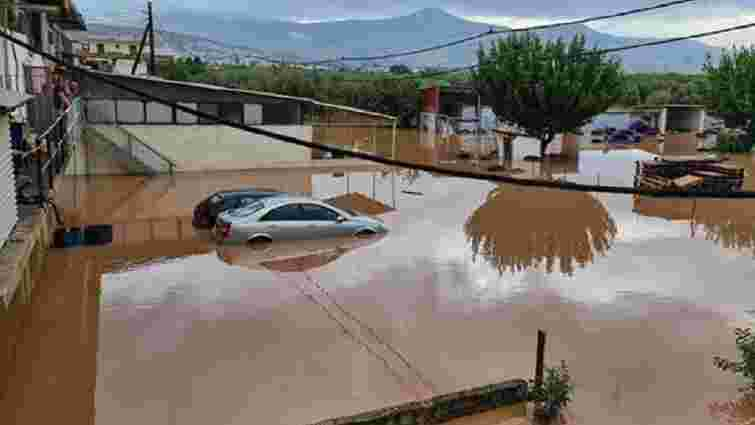 У Греції через потужний циклон річки вийшли з берегів, є жертви