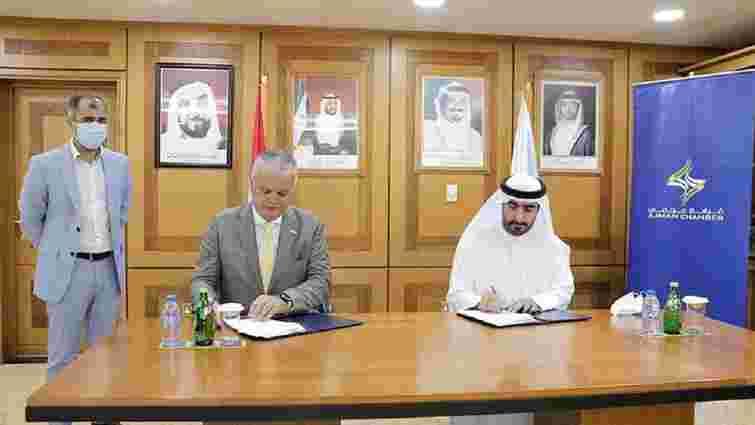 Засновник львівської IT-компанії ELEKS  підписав угоду про співпрацю з шейхом ОАЕ