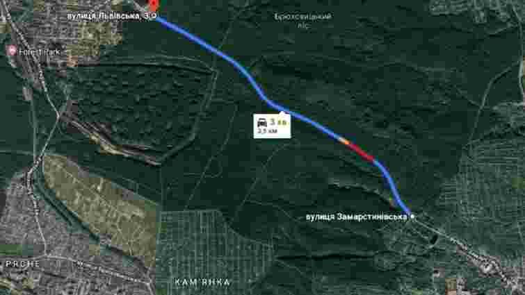 Мерія планує відремонтувати дорогу зі Львова до Брюховичів