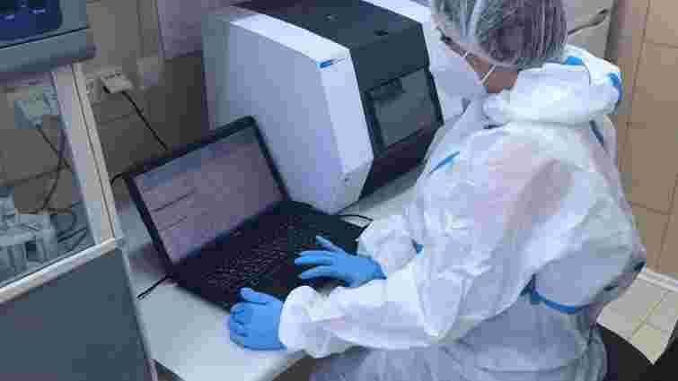Лабораторія львівського медуніверситету отримала нове обладнання для ПЛР-тестів