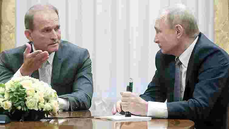 Путін провів зустріч з лідером ОПЗЖ Віктором Медведчуком