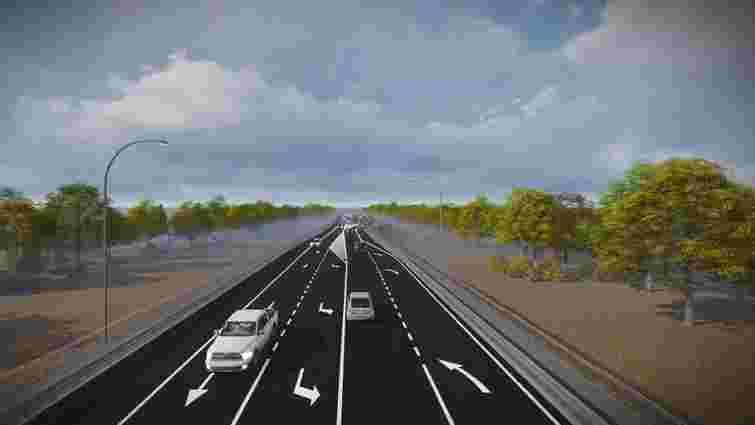 Частину західної об'їзної дороги Львова планують реконструювати