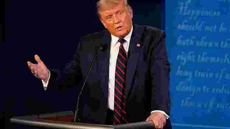 Дональд Трамп відмовився брати участь у віртуальних дебатах