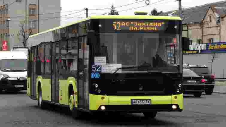 Львівська мерія змінила маршрут автобусів №52