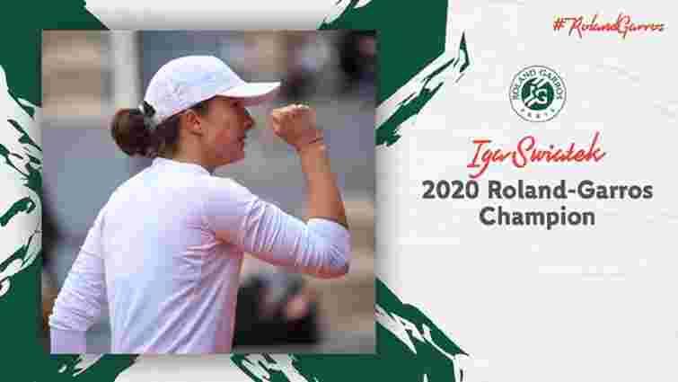 Польська тенісистка вперше в історії виграла турнір Великого шлему