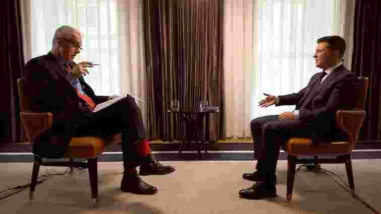 Зеленський допустив можливість мирної угоди з Путіним