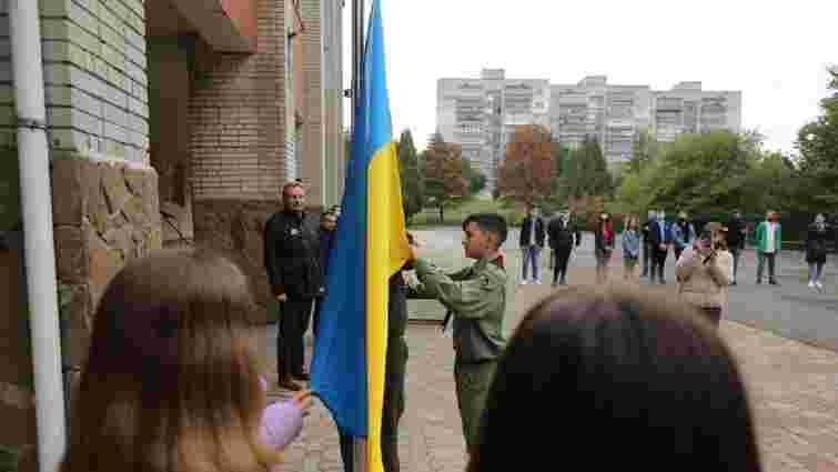 Найуспішніші учні щотижня підніматимуть державні прапори у львівських школах