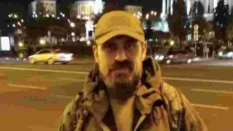 Помер військовий, який минулого тижня скоїв спробу самоспалення у Києві