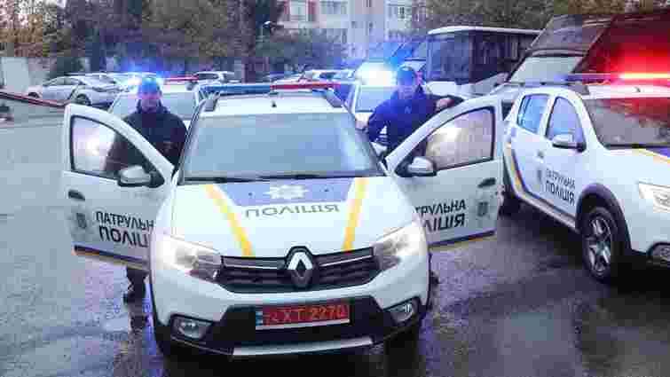 Львівська мерія купила п'ять патрульних автомобілів для поліції
