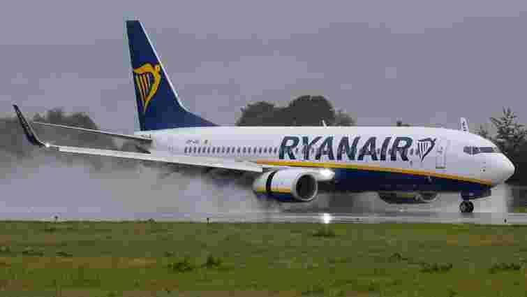 Лоукостер Ryanair скасував більшість авіарейсів зі Львова