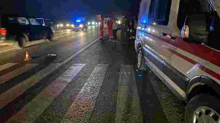 Двоє львів'ян загинули внаслідок наїзду авто на пішохідному переході