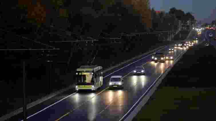 Тролейбус №23 вперше поїхав відремонтованою вулицею Хуторівка