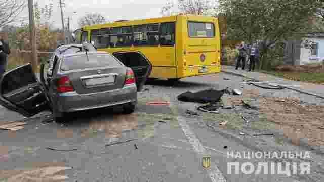 Семеро поранених і один загиблий у потрійній ДТП з маршруткою в Рівному